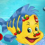 Ariel si Flounder Ranit