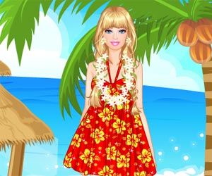 Barbie in Hawaii
