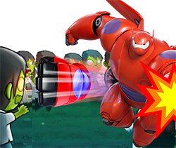 BAYMAX VS ZOMBIES