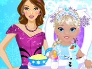Elsa`s Babysitter