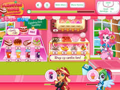 Equestria Girls - Sweet Shop My Little Pony