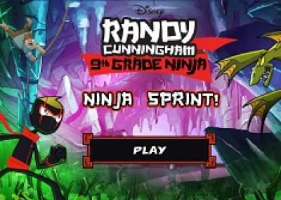RANDY CHUNNINGHAM NINJA SPRINT